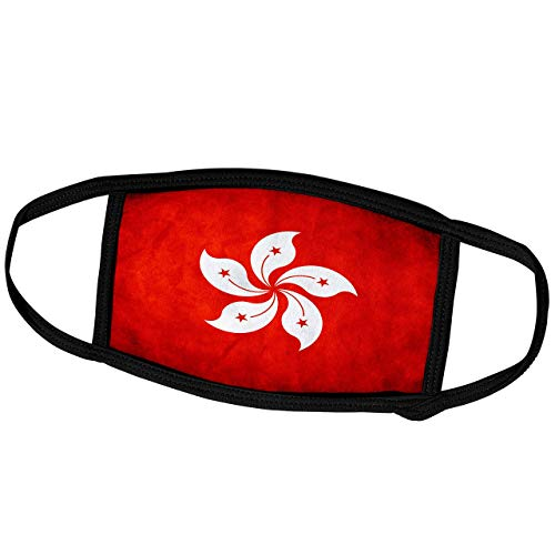 Flags-Hong Kong Flag-Face Mas-Ke