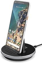 Encased Google Pixel 3a / Pixel 3a XL/ 4/ 4a 5G / 5 Charger Stand (USB Type C) Desktop Charging Dock (Heights Adjustable Station Mount) Black
