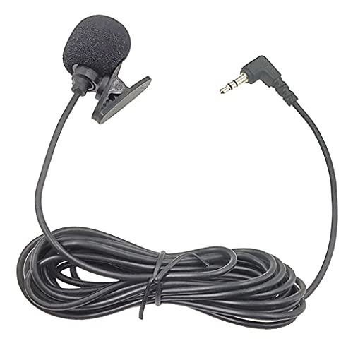 Generic 3.5mm Lavalier Lapel Microphone Omnidirectional Mic for PC Sound...