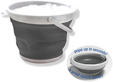 Dish Washing Bucket Collapsible 10L Bowl Tub Folding Container Camping Caravan