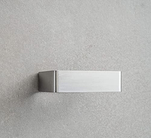 WC-Papierrollenhalter TPH, Edelstahl matt, Rostfrei, Handmade, Made in Germany, schlichtes Design, einfache Montage