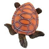 H HILABEE Tortuga Marina Decorativa de Resina Artificial para Adorno de Acuario