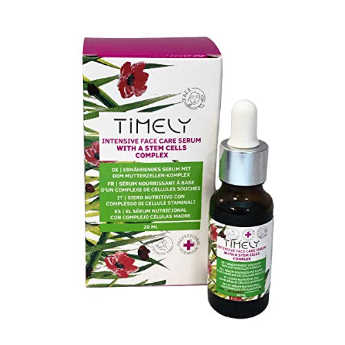 Timely Intensive Face Care Serum with Antiaging Stem Cell Complex, 20 ml