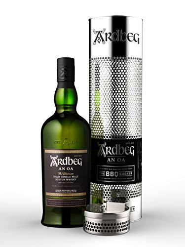 Ardbeg Ardbeg An Oa Islay Single Malt Scotch Whisky 46,6% Vol. 0,7L In Giftbox With Bbq Smoker - 700 ml
