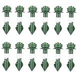 NiseWuds Conjunto de riego automático Picos de Waterer Plantas Dispositivos de riego Auto Drip Dispositivos de irrigación para Plantas en Maceta Jardín Interior Verde 12pcs