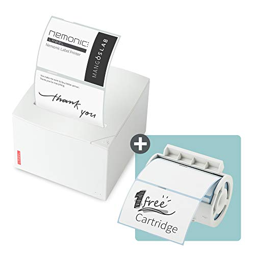 Nemonic Label - Label Printer & Sticky Notes Printer | Thermal Label Printer | Label Maker | Sticker Printer | Bluetooth Label Printer | iOS & Android & MS Office