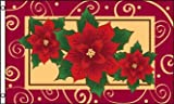 AZ FLAG Poinsettias Flag 3  x 5  - Christmas Flower Flags 90 x 150 cm - Banner 3x5 ft