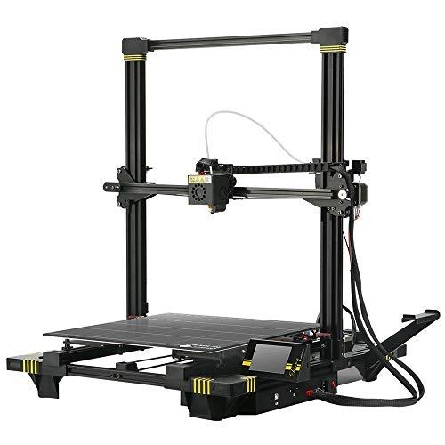 ANYCUBIC 3D-Drucker, Auto Leveling und Ultrabase Heatbed geeignet, Stromausfalla Haltepunkt Wiederherstellung, 400 x 400 x 450 mm für 1,75 mm Filament TPU, HIPS, PLA, ABS (ANYCUBIC Chiron)