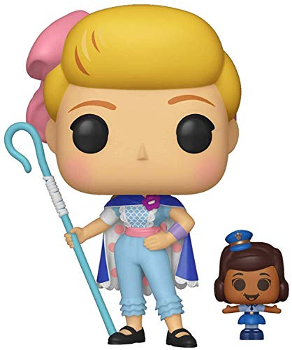Funko POP! Vinilo: Disney: Toy Story 4: Bo Peep w/Officer McDimples, Multicolor, talla única