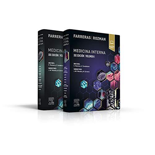 Farreras Rozman. Medicina Interna - 19ª edición(Español) Tapa dura –15 mayo 2020(vol 1 y 2)