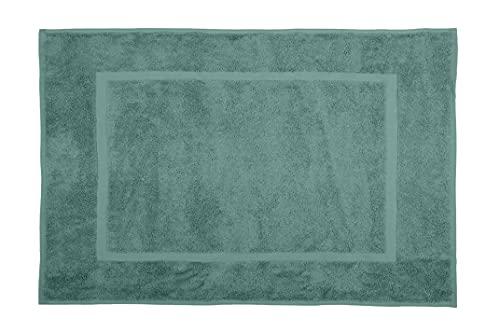 Lovely Casa - Alfombra de baño (45 x 70 cm), diseño de eucalipto, algodón, estándar