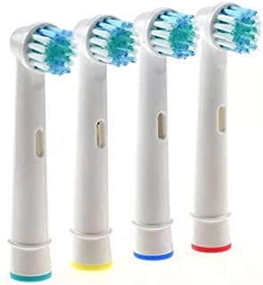4pcs Brush Heads For Oral-B Electric Toothbrush Fit Advance Power/Pro Health/Triumph/3D Excel/Vitality Precision Clean