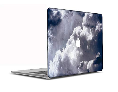 Congsansuo Cut Out Design Plastic Pattern Ultra Slim Light Hard Shell Case Cover Compatible MacBook Pro 13 inch Retina Display No CD-ROM Model:A1425/A1502,Sky Series 0772