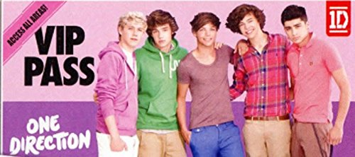 "1D One Direction Cotton Beach Towel 28"" x 58"" VIP Pass"