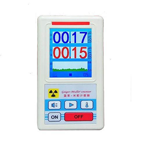 Nukana Bildschirm Geigerzähler Nuklearstrahlungsdetektor Personaldosimeter Marmordetektoren Beta Gamma-Röntgentester
