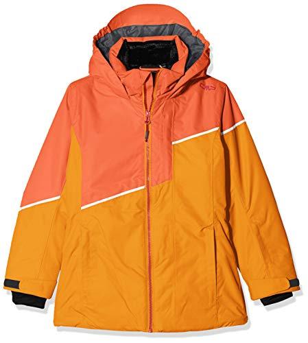 CMP Mädchen Skijacke 39W2035 Jacke, Orange, 140 (L)