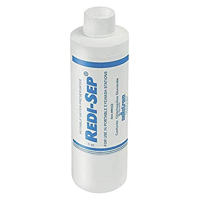 Sellstrom Replacement Bacteriostatic Additive, 8 oz Bottle (Box of 4), S90322