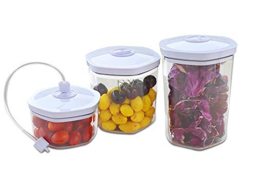 Gastroback 46110 Inhalt: 700, 1400, 2000ml und Vakuumschlauch, Kunststoff, Sonstige