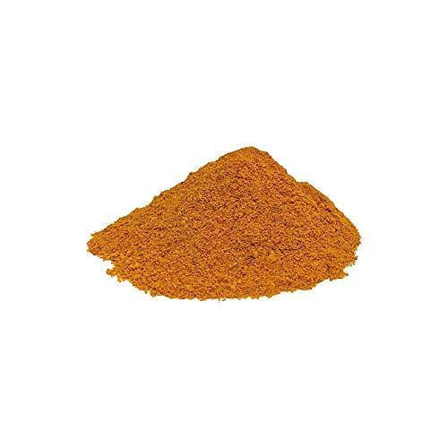 Med Cuisine Mix Spezie in Polvere Amba 1KG - Condimento Piccante Macinato - Salsa al Mango Essiccata - Curry del Medio Oriente Senza Additivi - Vegano e Non OGM