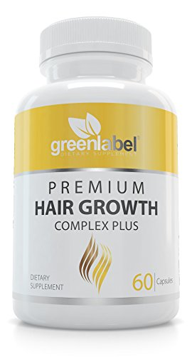 Premium Hair Growth + Biotin + Folic Acid + Vitamin A, B, C, D, E. Scientifically Proven, Makes Your Hair Look Gorgeous, Thicker And Shinier, Stronger and Healthier. Made in the USA.