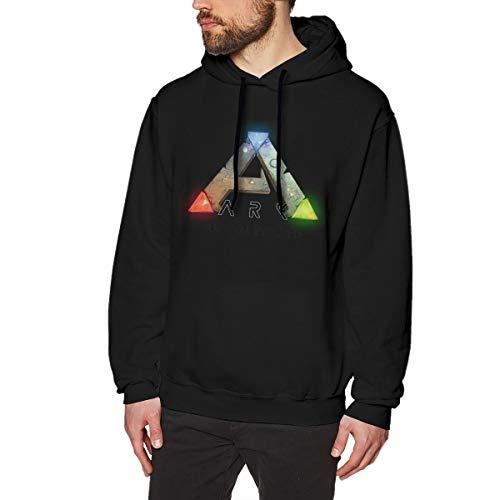 MYHL Men's Ark Survival Evolved Graphic Fashion Sport Hip Hop Hoodie Sweatshirt Pullover Tops
