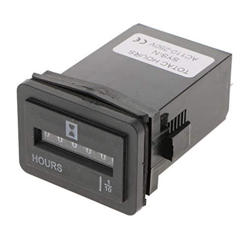 Digitales LCD Programmierbare Zeitschaltrelais Zeitschaltuhr 230V 24 Stunde - AC110-250V