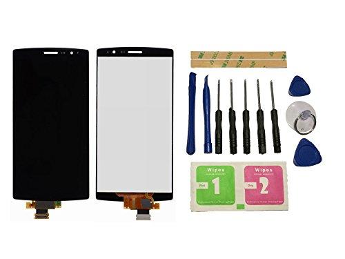 Flügel para LG G4 H810 H811 H815 Pantalla LCD pantalla Negro Táctil digitalizador Asamblea Pantalla ( sin marco ) de Recambio & Herramientas