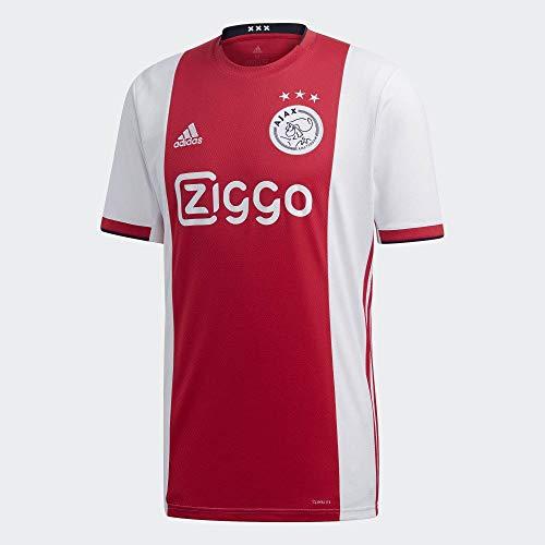 adidas Herren Ajax H JSY Unterhemd, Rouge VIF/Blanc/Noir, M