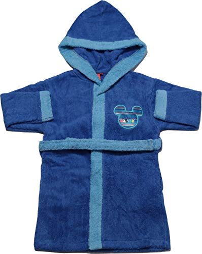 KISENE' Disney badjas, van puur katoen, zeer absorberend, motief: Mickey Minnie Spiderman Frozen
