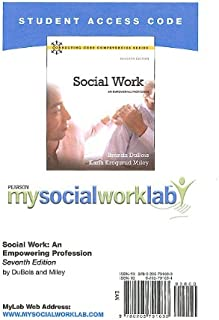 MyLab Social Work -- Standalone Access Card -- for Social Work: An Empowering Profession