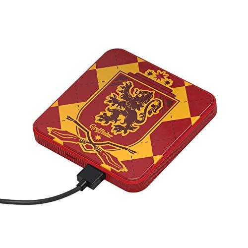 Power Bank 4000 mAh Gryffindor – Caricabatterie portatile universale originale Harry Potter, Tribe PBL23700