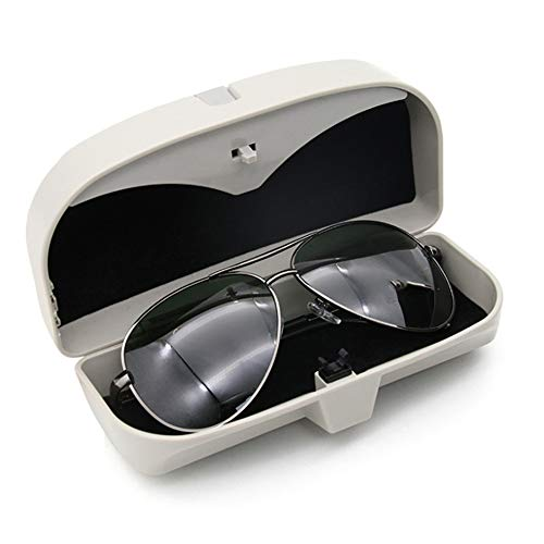 SJWMXN Estuche de Caja de Almacenamiento de Gafas de Coche, para Porsche 911918 Cayenne Macan Macan S Panamera Cayman Carrera Boxster