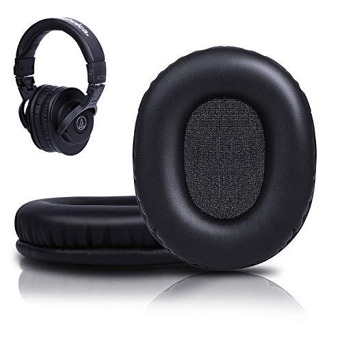 SOULWIT Almohadillas de Repuesto para Audio Technica (ATH) M50x /M50 /M50xBT /M50RD /M40X /M30x /M20x /MSR7