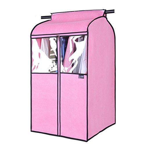 Xuan - Worth Another Vêtements Housse Anti-poussière Stéréo épaississement Sac à poussière Sac Suspendu Suspendu Transparent (Couleur : Pink, Taille : Gros)