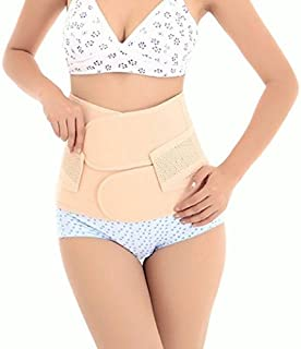 Healthcom Waist Slimming Belt Shaper Wrapper Band Abdomen Abdominal Binder Women Postnatal Pregnancy Belt-Support Postpartum Recoery Support Girdle Belt Belly(Size:M)