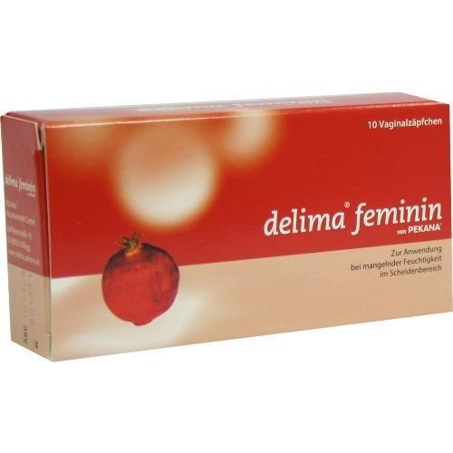 DELIMA FEMININ 10St Vaginalovula PZN:1150256