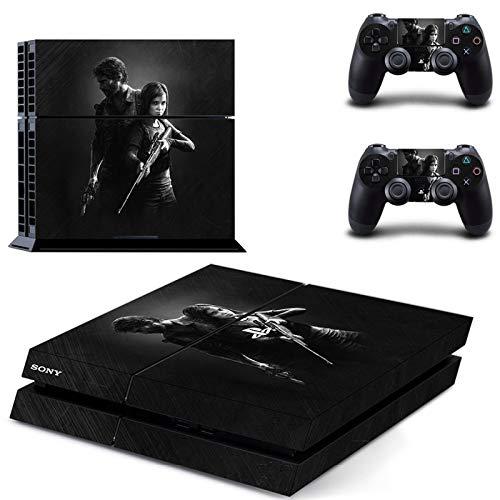 The Last of Us Part 2 Controller-Aufkleber, komplettes Set Konsolenschutz-Aufkleber, Geschenke für Freunde und Familie (C)