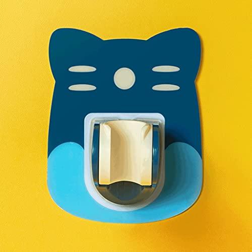 SPNEC Ganchos de baño Tenedor de Ducha Fuerte Soporte de Ducha Soporte de Ducha Cabeza de Ducha Base Fija Baño para el hogar Accesorios de Ducha (Color : Blue)