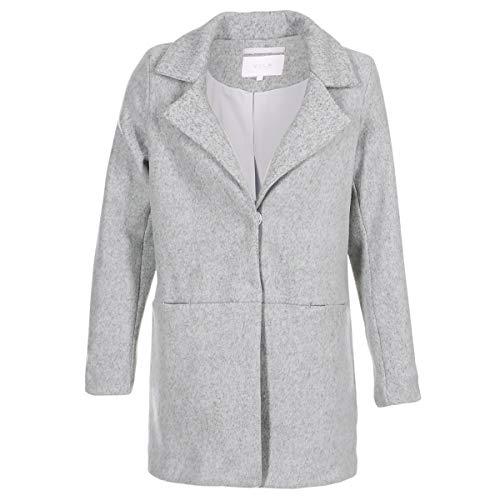 Vila Vidory Mäntel Damen Grau - DE 42 (EU 44) - Mäntel Outerwear