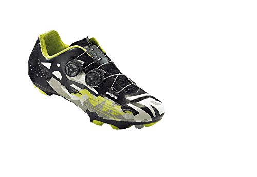Northwave Blaze Plus zapatilla de ciclismo zapatos de Camo/ - Colour negro multicolor Talla:42 UE