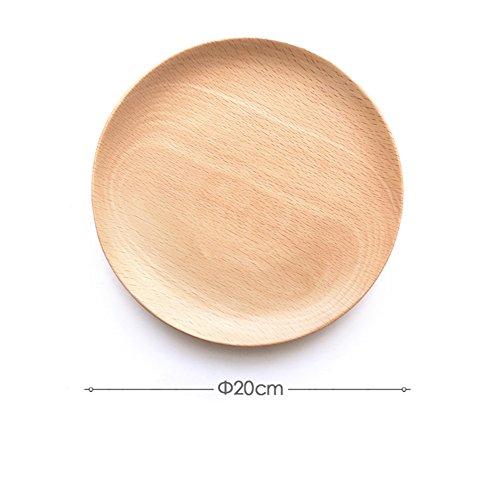 assiette ,plaque d'accentuation,assiette d'apéritif, assiette à dessert , assiette de salade /disque en bois/disque de pâtisserie de fruit/plateaux de rafraîchissement/ snack plaque -F