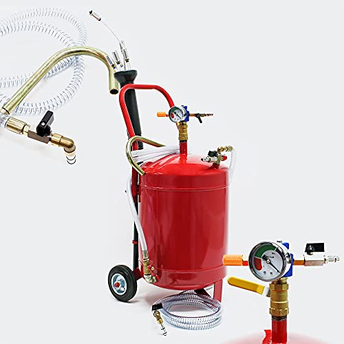 Dispositivo pneumatico di aspirazione dell'olio da 22,7 l per cambio olio ed estrazione olio