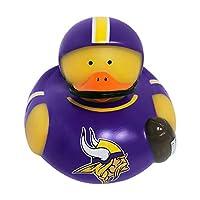 "Fremont Die NFL Minnesota Vikings 4"" Floating Rubber Duck, 4"", Team Colors"