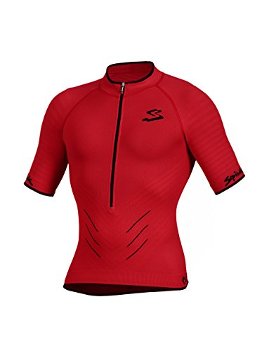 Spiuk Team Maillot, Hombre, Rojo, S