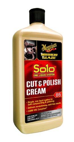 Meguiar's M8632 Mirror Glaze Solo Cut & Polish Cream, 32 Fluid Ounces