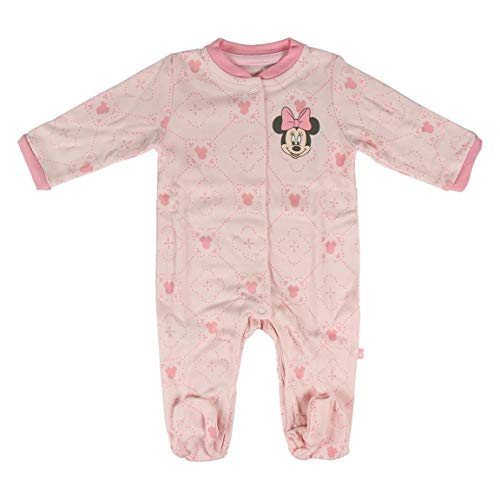 Minnie Mouse 2200005547 Set regalo bebés, Rosa, 1 A 3 meses