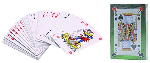 Cartes de jeu - Plastifié - 2 Ensembles