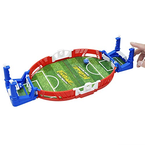 Xiton 1set Mini Soccer Game Interactive Tabletop Bureau D'entraînement De Football Toy Family Party avec Deux Balles Et Score Keeper pour Les Fans De Sport