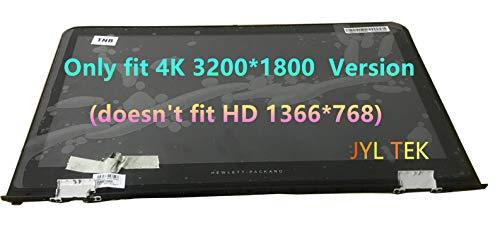 Pantalla LED IPS LCD de 15,6 pulgadas 4K UHD (3800 x 1800) + pantalla táctil + marco de bisel + panel de control digitalizador para Hp Envy 15-ae Series LQ156Z1JW03B/A02
