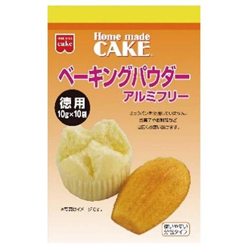 共立食品 徳用 ベーキングパウダー 100g(10g×10袋)×6袋入×(2ケース)